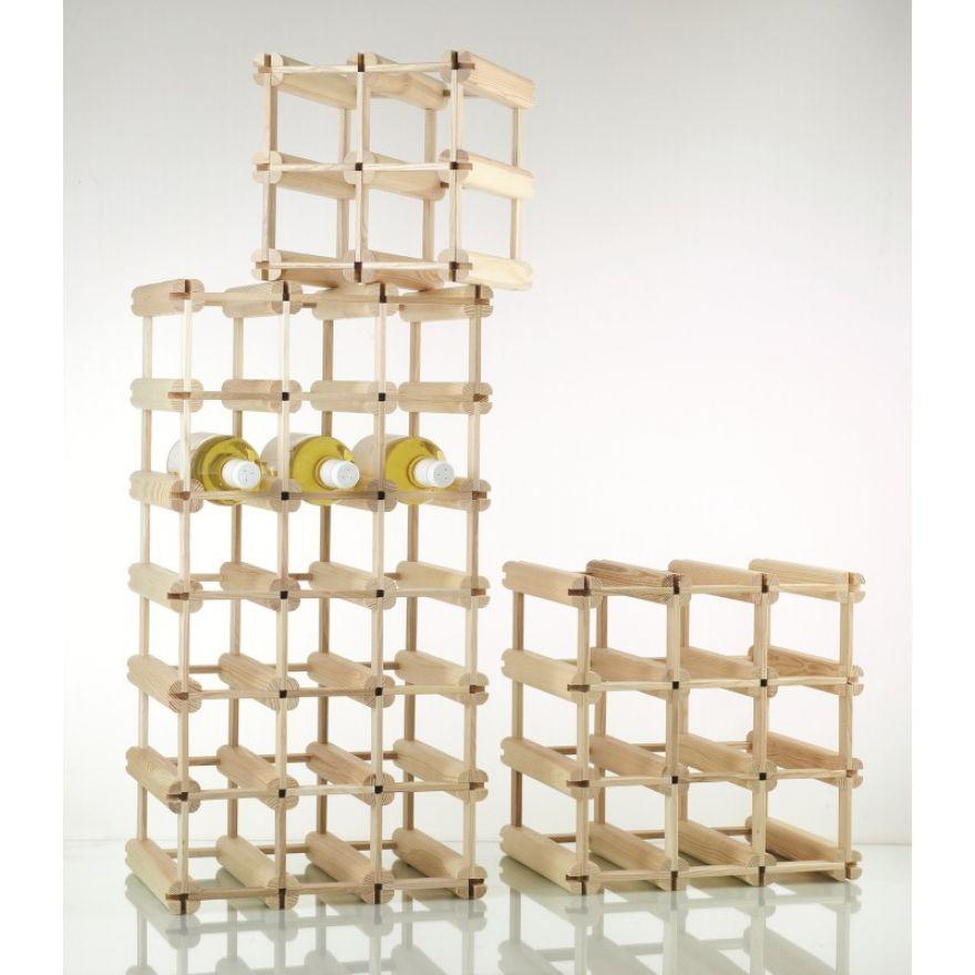weinregal holz weinflaschenregal f r 6 flaschen wertprodukte. Black Bedroom Furniture Sets. Home Design Ideas