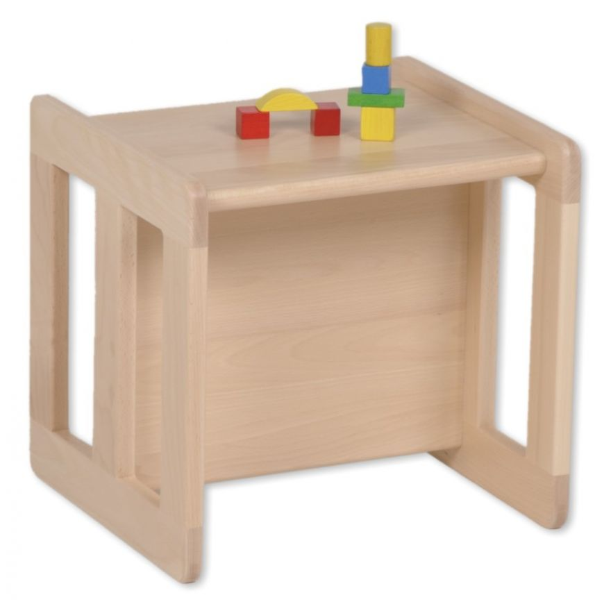 wendehocker mitwachsend tisch aus holz kinderhocker kinder stuhl. Black Bedroom Furniture Sets. Home Design Ideas