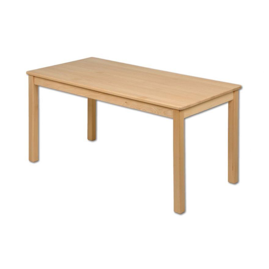 1 Kindertisch Holz Rechteckig Buche (ohne Stühle U. Deko) Kindergarten