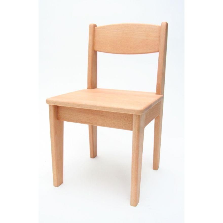 kinderstuhl buche holz massiv ge lt sitzh he 32 5 cm. Black Bedroom Furniture Sets. Home Design Ideas
