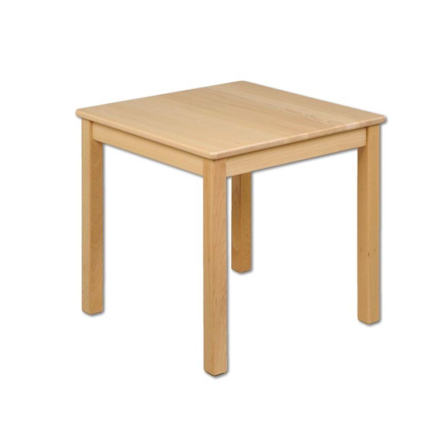 Kindertisch Holz Buche Quadratisch Massiv Tisch Kinder