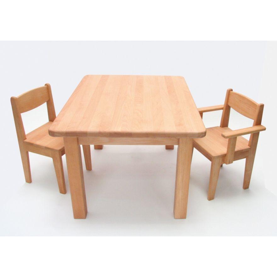 Kinderstuhl Holz Buche geölt Sitzhöhe 26 cm Stuhl für