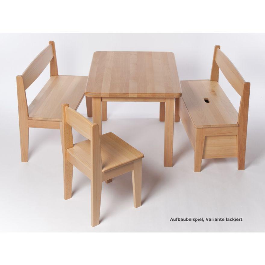 Kindertisch Buche Holz Massiv Geolt Hohe 53 Cm Wertprodukte