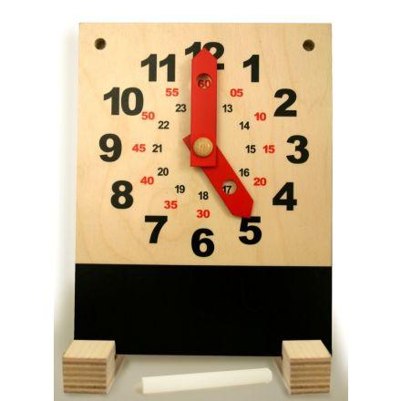 aktionsuhr mit tafel f r karthaus kalender dauerkalender wertprodukte. Black Bedroom Furniture Sets. Home Design Ideas