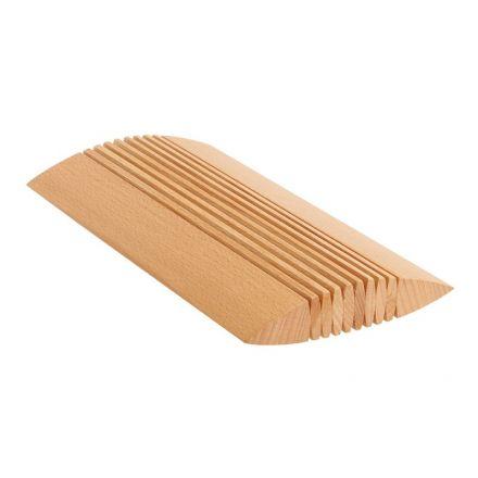 Schreibtischplatte holz  Flexxx-Organisationshilfe Holz Schreibtisch Kartenhalter (ohne Deko)  Art-Nr. 4102
