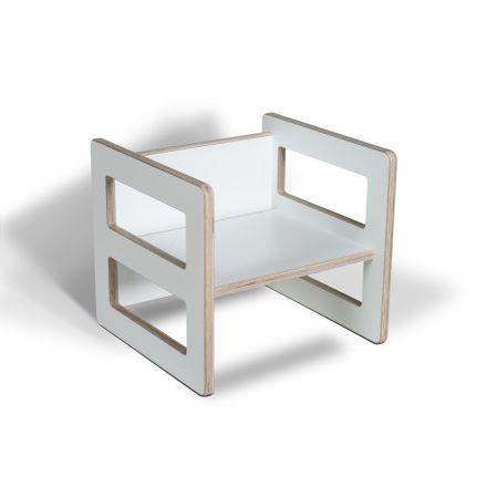 Wendehocker mitwachsend Tisch aus Holz Kinderhocker Kinder Stuhl
