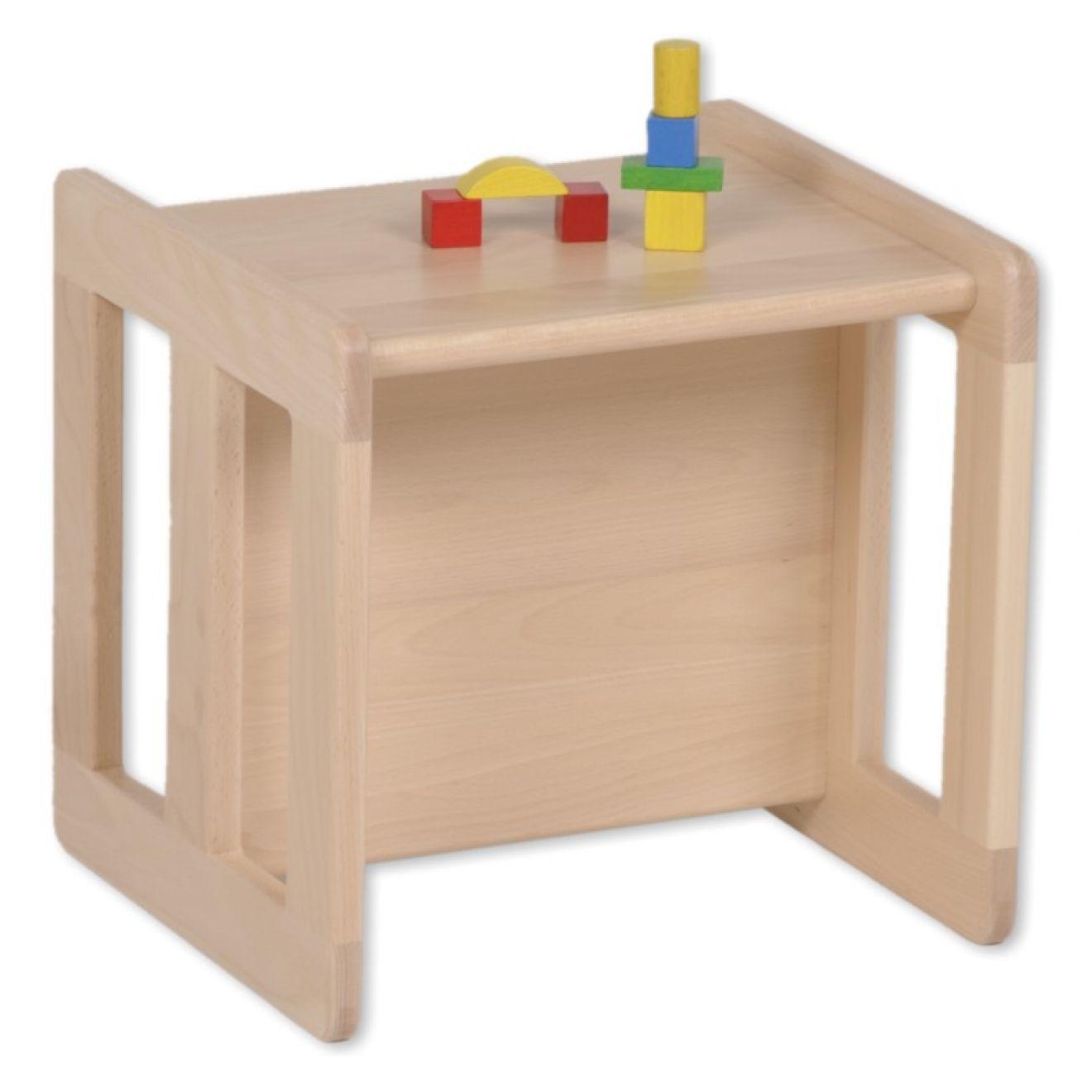 wendehocker mitwachsend tisch aus holz kinderhocker kinder. Black Bedroom Furniture Sets. Home Design Ideas